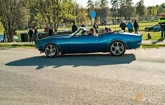 Side  of Chevrolet Camaro Convertible 5.4 V8 Powerglide, 214ps, 1967 at Wheelers Cruising, Vetlanda 2019