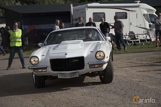 Front/Side  of Chevrolet Camaro 4.1 Powerglide, 157ps, 1970 at Tisdagsträffarna Vikingatider v.25 / 2017