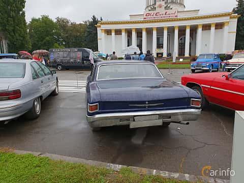 Back of Chevrolet Chevelle 4-door Sedan 1967 at Old Car Land no.2 2018