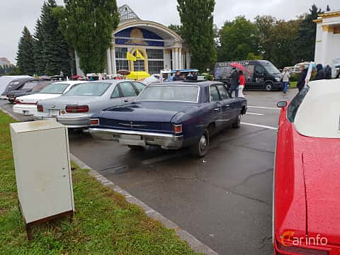 Back/Side of Chevrolet Chevelle 4-door Sedan 1967 at Old Car Land no.2 2018