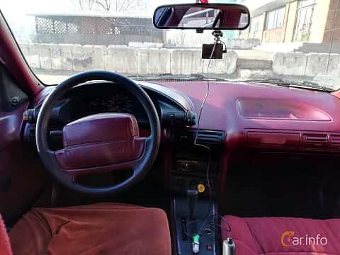 Närbild av Chevrolet Corsica Sedan 3.1 V6 Automatic, 142ps, 1993