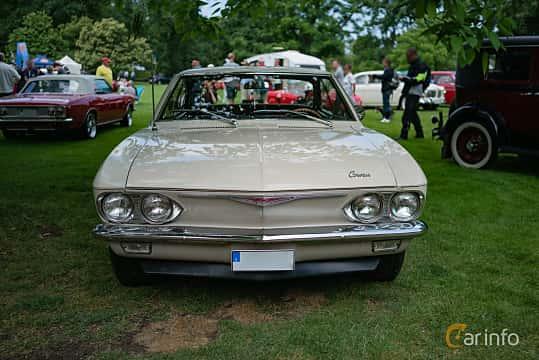 Fram av Chevrolet Corvair Coupé 2.7 Manual, 183ps, 1965 på Sofiero Classic 2018