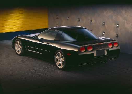 Back/Side of Chevrolet Corvette 5.7 V8 Manual, 350hp, 1997