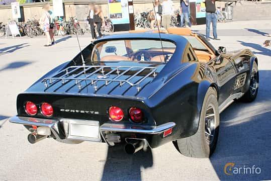 Back/Side of Chevrolet Corvette Stingray 5.7 V8 Automatic, 273ps, 1971