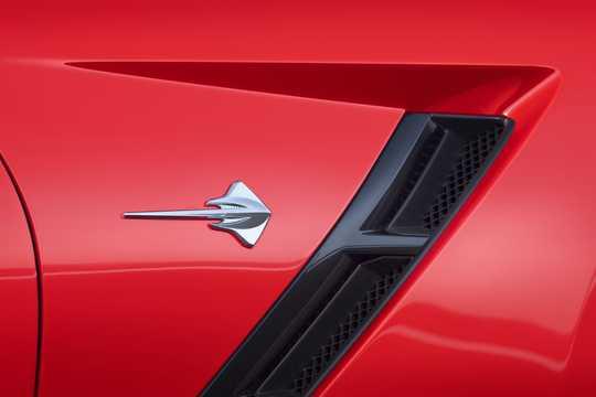 Close-up of Chevrolet Corvette 6.2 V8 Manual, 466hp, 2014