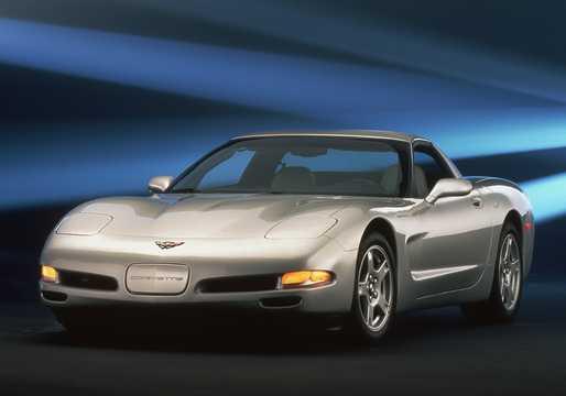 Front/Side  of Chevrolet Corvette 5.7 V8 Manual, 350hp, 1997