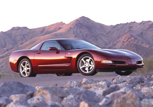 Front/Side  of Chevrolet Corvette 2003