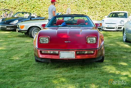 Front  of Chevrolet Corvette 5.7 V8 Automatic, 208ps, 1984 at Sportbilsklassiker Stockamöllan 2019