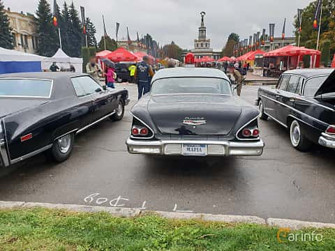 Back of Chevrolet Delray 4-door 1958 at Old Car Land no.2 2018