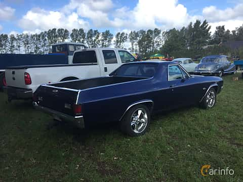 Back/Side of Chevrolet El Camino 5.7 V8 Powerglide, 254ps, 1970