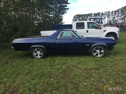 Side of Chevrolet El Camino 5.7 V8 Powerglide, 254ps, 1970