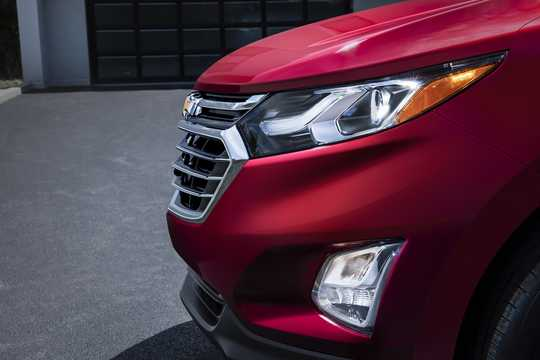 Close-up of Chevrolet Equinox 2018