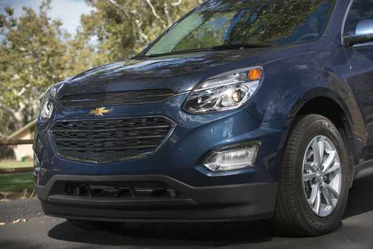 Close-up of Chevrolet Equinox 2016