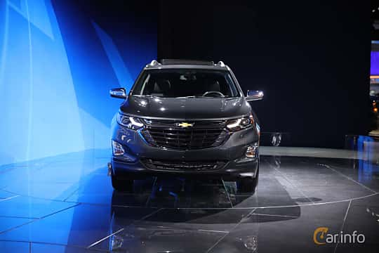 Front  of Chevrolet Equinox 2.4 AWD Automatic, 185ps, 2017 at North American International Auto Show 2017