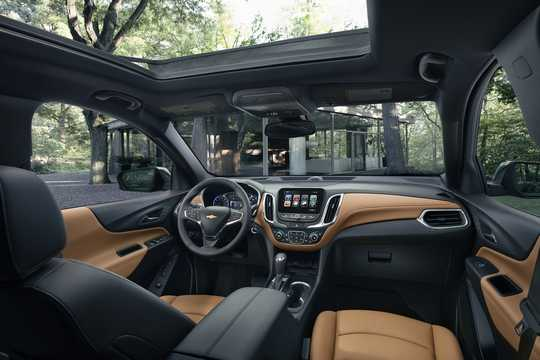 Interior of Chevrolet Equinox 2018
