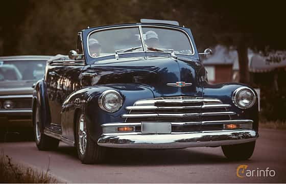 Front/Side  of Chevrolet Fleetmaster Cabriolet 3.5 Manual, 91ps, 1947