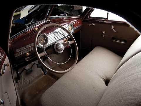 Interior of Chevrolet Fleetmaster Coupé 3.5 Manual, 91hp, 1947