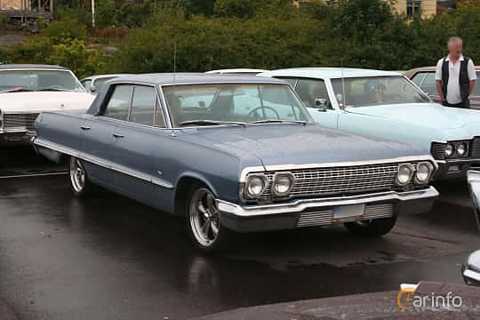 Front/Side  of Chevrolet Impala Sport Sedan 4.6 V8 Powerglide, 198ps, 1963