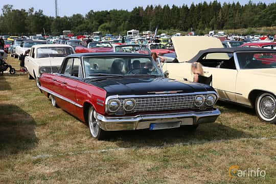 Front/Side  of Chevrolet Impala Sport Sedan 4.6 V8 Powerglide, 198ps, 1963 at Wheels & Wings 2019