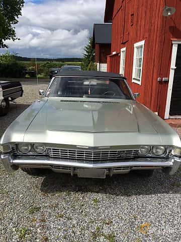 Front  of Chevrolet Impala Convertible 5.0 V8 Powerglide, 203ps, 1968