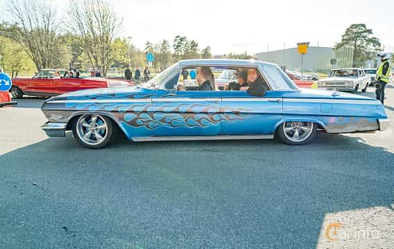 Side  of Chevrolet Impala Sedan 3.9 Powerglide, 137ps, 1962 at Wheelers Cruising, Vetlanda 2019