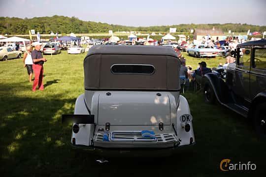 Bak av Chevrolet Master Cabriolet 3.4 Manual, 80ps, 1934 på Tjolöholm Classic Motor 2018