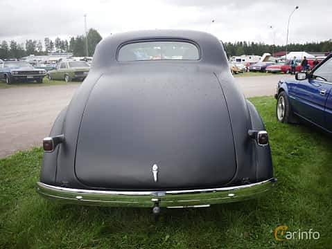 Back of Chevrolet Master Deluxe Coupé 3.5 Manual, 86ps, 1937 at Classic Car Week Rättvik 2016