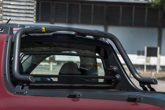 Close-up of Chevrolet Montana 1.4 E85 Manual, 102hp, 2017