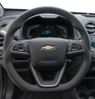 Interior of Chevrolet Montana 1.4 E85 Manual, 102hp, 2017