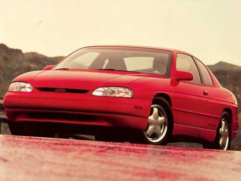 Front/Side  of Chevrolet Monte Carlo 1995