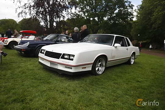 Front/Side  of Chevrolet Monte Carlo 5.0 V8 Automatic, 183ps, 1988 at Sofiero Classic 2019