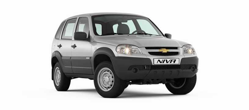 Front/Side  of Chevrolet Niva 1.7 4WD Manual, 80hp, 2017