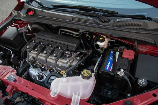 Engine compartment  of Chevrolet Prisma MK II 1.4 E85 Automatic, 106hp, 2017