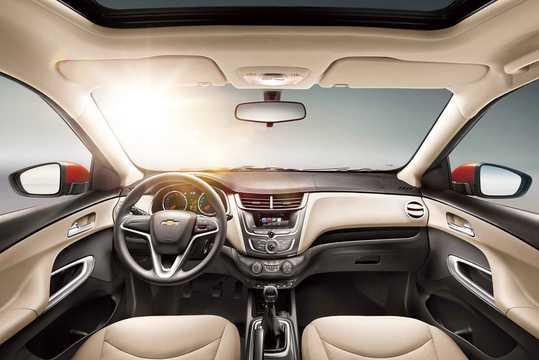 Interior of Chevrolet Sail 1.5 Manual, 113hp, 2017