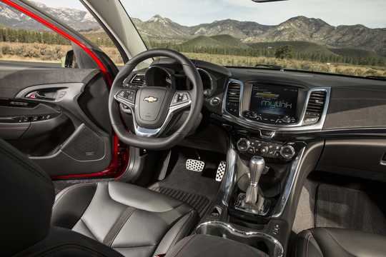 Interior of Chevrolet SS 6.2 V8 Automatic, 421hp, 2016