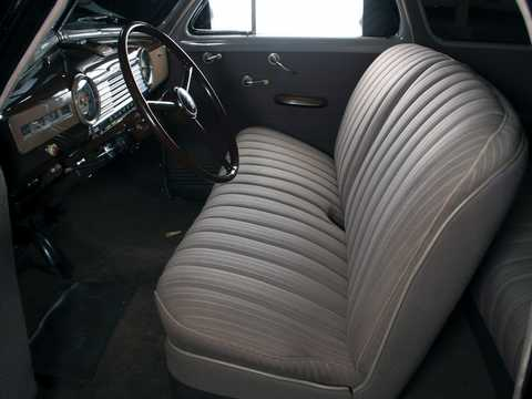 Interior of Chevrolet Stylemaster Coupé 3.5 Manual, 91hp, 1948
