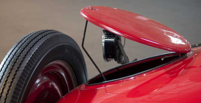 Close-up of Chevrolet Superior Roadster 2.8 Manual, 26hp, 1926