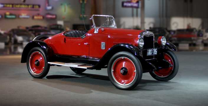 Front/Side  of Chevrolet Superior Roadster 2.8 Manual, 26hp, 1926