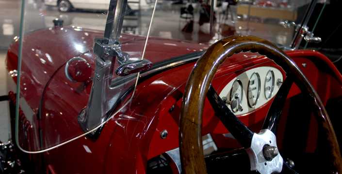 Interior of Chevrolet Superior Roadster 2.8 Manual, 26hp, 1926