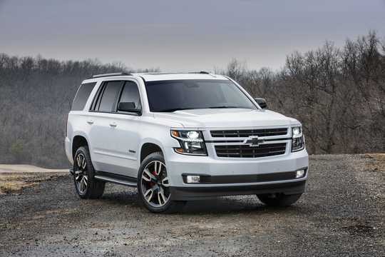 Front/Side  of Chevrolet Tahoe RST 6.2 V8 Automatic, 426hp, 2018