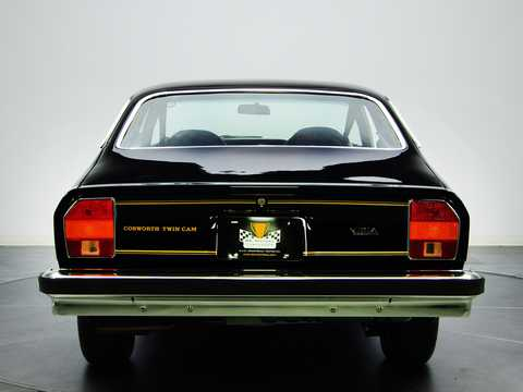 Back of Chevrolet Cosworth Vega 2.0 Manual, 111hp, 1975
