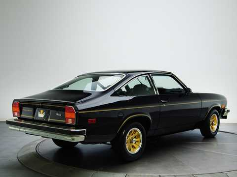 Back/Side of Chevrolet Cosworth Vega 2.0 Manual, 111hp, 1975
