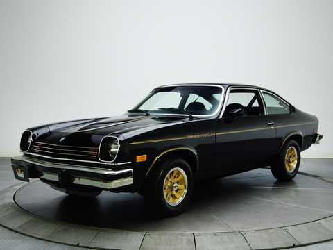 Front/Side  of Chevrolet Cosworth Vega 2.0 Manual, 111hp, 1975