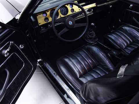 Interior of Chevrolet Cosworth Vega 2.0 Manual, 111hp, 1975