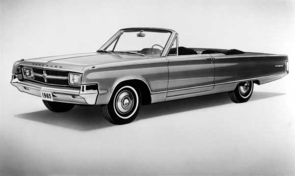 Front/Side  of Chrysler 300L Convertible 6.8 V8 TorqueFlite, 365hp, 1965