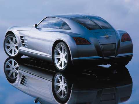 Back/Side of Chrysler Crossfire 2.7 V6 Manual, 279hp, 2001