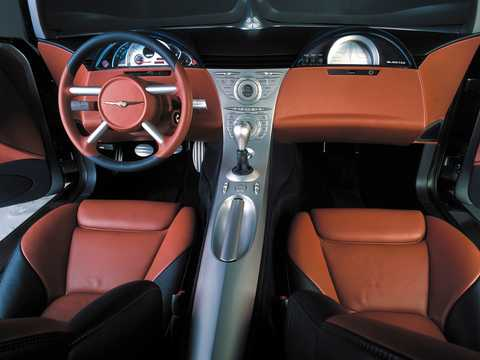 Interior of Chrysler Crossfire 2.7 V6 Manual, 279hp, 2001