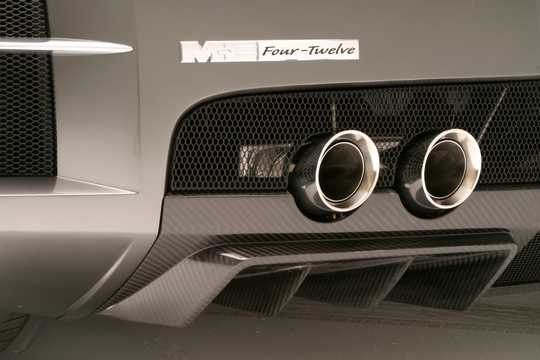 Close-up of Chrysler ME Four-Twelve 6.0 V12 Semi-Automatic, 862hp, 2004