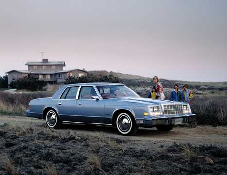 Front/Side  of Chrysler Newport 1979
