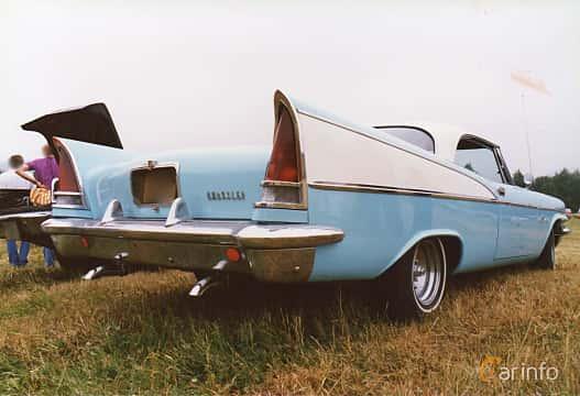 Back/Side of Chrysler Saratoga 2-door Hardtop 5.8 Automatic, 299ps, 1957